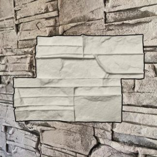 Silicone stamp, Stacked stamp, Stacked rock stone, Stamped concrete, Rock stone pattern, verticalstamps.com, wall, fireplace, YORK, Ledgestone texture,