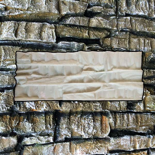 """""""PORTO"""" stacked rock stone silicone stamp – VerticalStamps"""