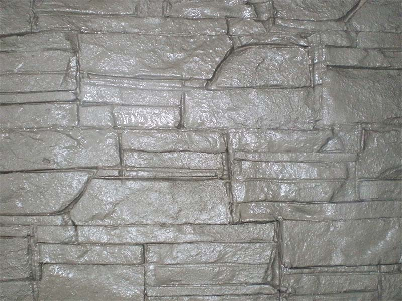 York Stacked Ledgestone Silicone Z Stamp Verticalstamps