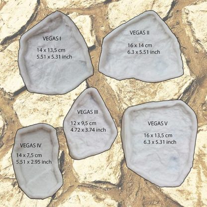 Stamped concrete DIY single stone SET